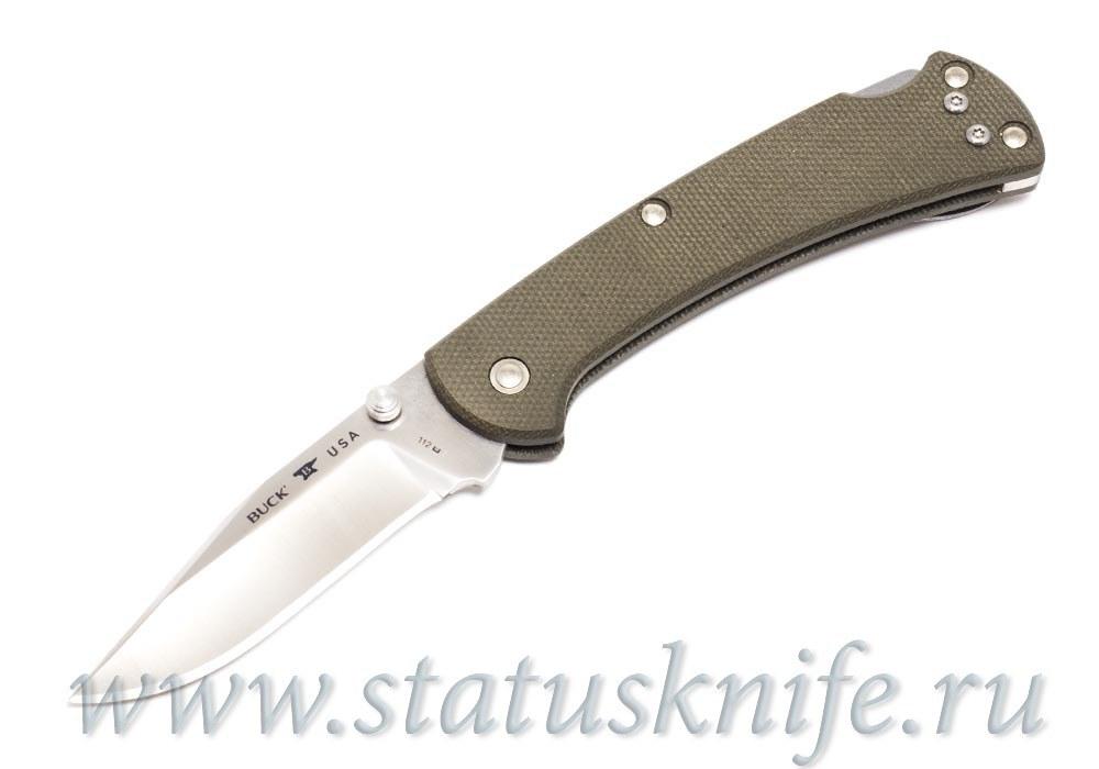 Нож BUCK 0112ODS6 112 Ranger Slim Pro