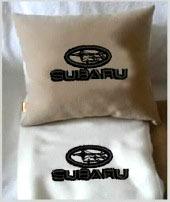 Плед в чехле с логотипом Subaru