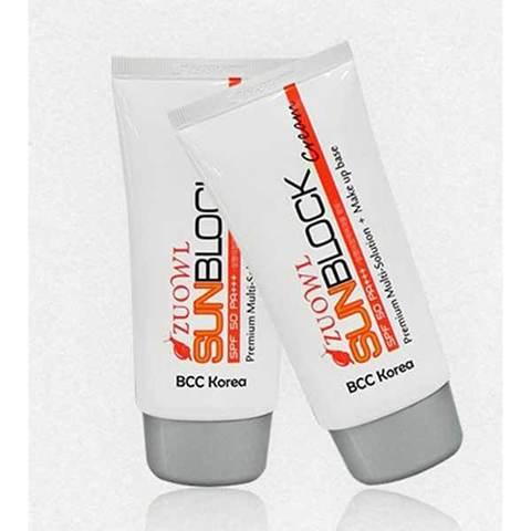 Солнцезащитный крем для лица крем Zuowl  Sun Cream SPF50+ PA+++ (70ml)