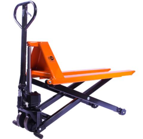 Тележка гидравлическая с ножничным подъемом TOR 1,0 т JF 1000 (резин.колеса), шт