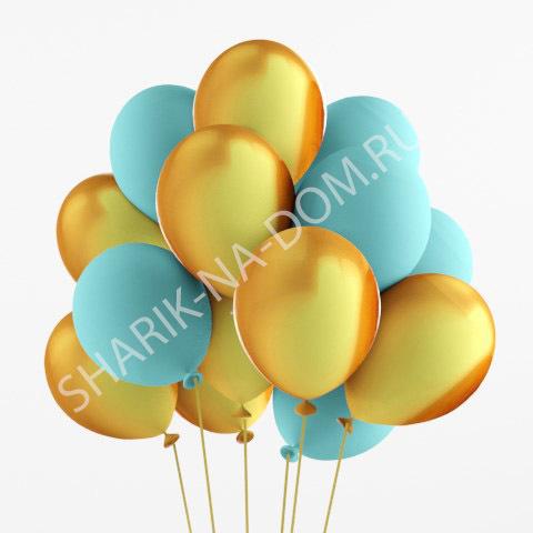 Облако из шаров Облако голубых и золотых шаров Облоко_из_золотых_и_голубых_шаров.jpg