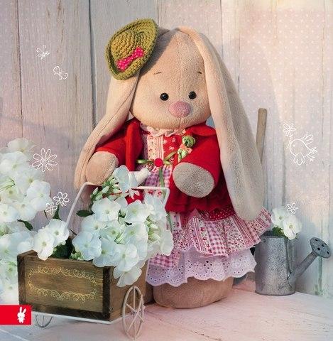 Зайка Ми Маково-красный коллекция Прованс