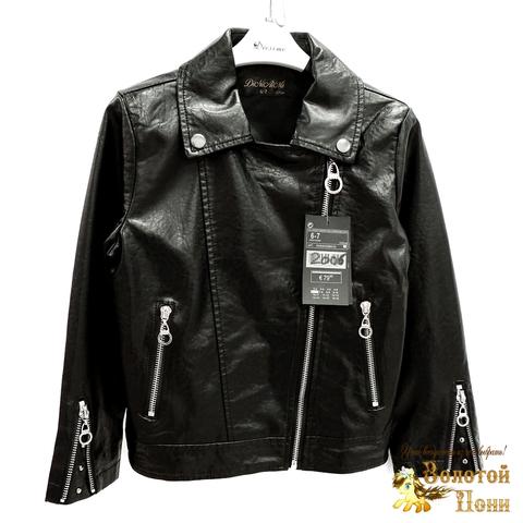 Куртка экокожа девочке (3-11) 200318-W2006.3