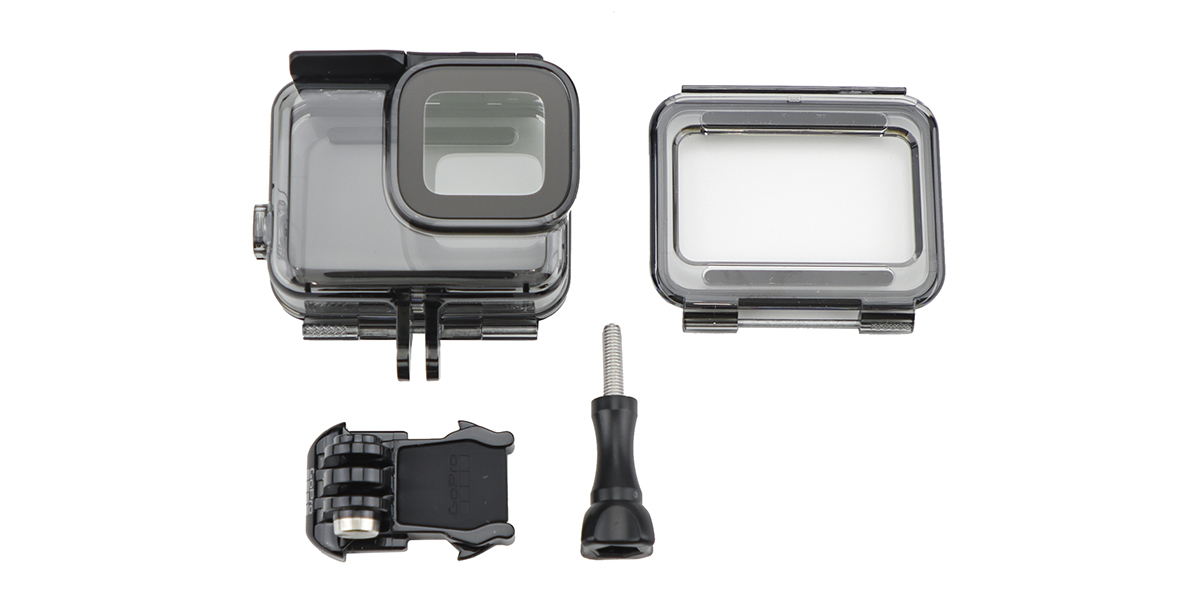 Водонепроницаемый бокс для камеры GoPro HERO7 Super Suit White/Silver (40 м) ABDIV-001 комплектация