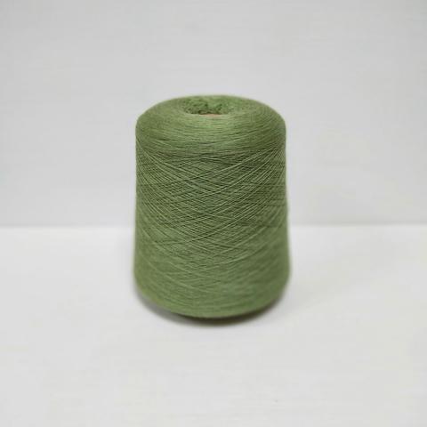 Zegna Baruffa, Cashwool, Меринос 100%, Умеренный желтовато-зеленый меланж, 2/48, 2400 м в 100 г