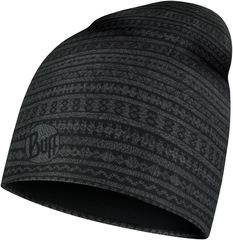 Тонкая флисовая шапочка Buff Hat Polar Microfiber Ume Black