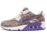 Кроссовки женские Nike Air Max 90 Violet Flower