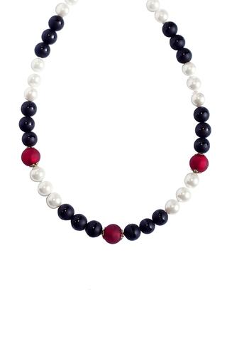Ожерелье Giorno e Notte черно-белое