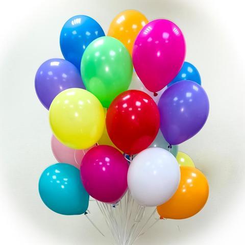 Воздушные шары ассорти 25 см.