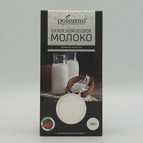 Сухое кокосовое молоко POLEZZNO, 100 гр