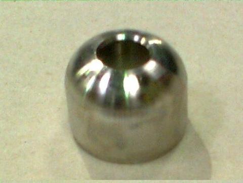 21011200 Адаптер крышки доильного ведра для пульсатора, нерж. сталь