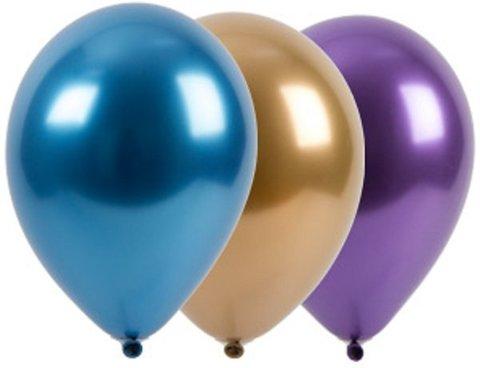 Зеркальные шары Хром, ассорти, 30 см