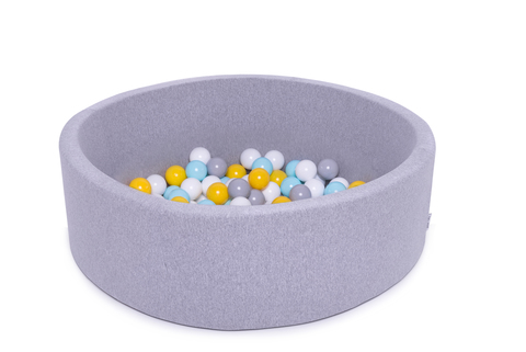 Сухой бассейн Anlipool 100/30см серый комплект №64 Sea pearl