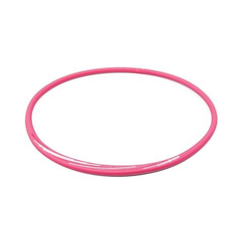 Ожерелье PHITEN RAKUWA NECKLACE S SLASH LINE, w lame (розово-белый)
