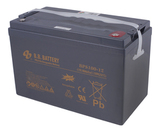 Аккумулятор для ИБП B.B.Bаttery BPS100-12  (12V 100Ah / 12В 100Ач) - фотография