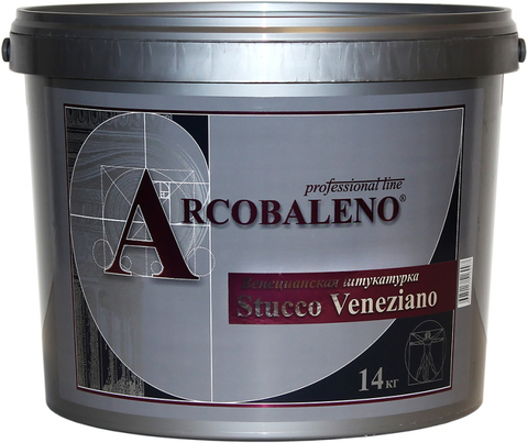 STUCCO VENEZIANO Венецианская штукатурка 0.5 кг База