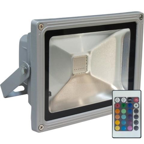 Прожектор светодиодный 20 Вт RGB с пультом управления