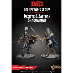 D&D Dungeon of the Mad Mage - Dezmyr & Zalthar Shadowdusk Figures