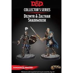 D&D Dungeon of the Mad Mage - Dezmyr & Zalthar Shadowdusk Figures
