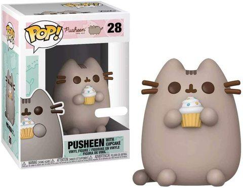 Pusheen with Cupcake Funko Pop! (Exc)    Кот Пушен с Капкейком
