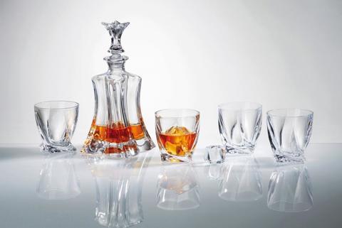 Набор для виски FLORALE, 1 штоф и 4 бокала
