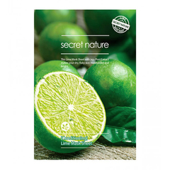 Тканевая маска с лаймом, SECRET NATURE, Secret Nature Conditioning Lime Mask Sheet, 25г