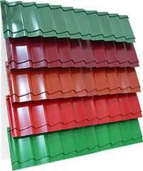 Металлочерепица (RAL 6005) зеленый мох 1190х2250х0,5мм (2,68м2)