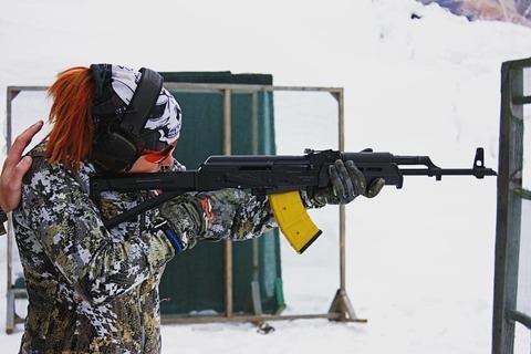 Приклад MOE для AKМ, Magpul реплика на огнестрел