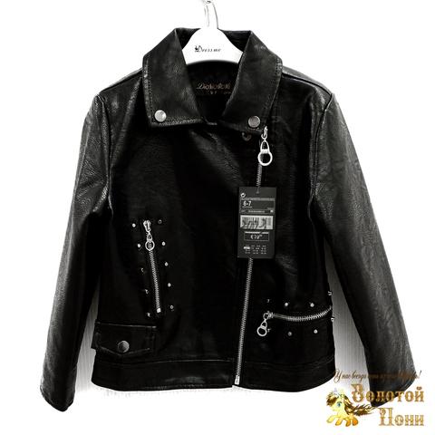 Куртка экокожа девочке (3-11) 200318-W2003.3