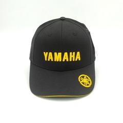 Кепка с вышитым логотипом Ямаха (Кепка Yamaha) черная