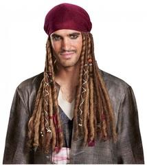 Пираты Карибского моря Бандана с дредами Джека Воробья