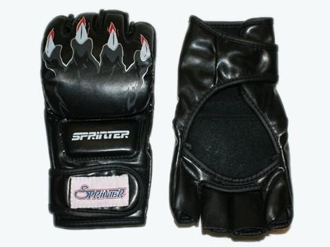 Перчатки для рукопашного боя. Материал: кожзаменитель. Размер L, М. :(ZTM-025):