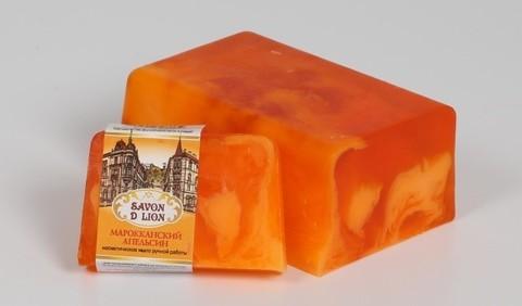 Косметическое мыло Марокканский апельсин 100 гр. ТМ SAVON D LION