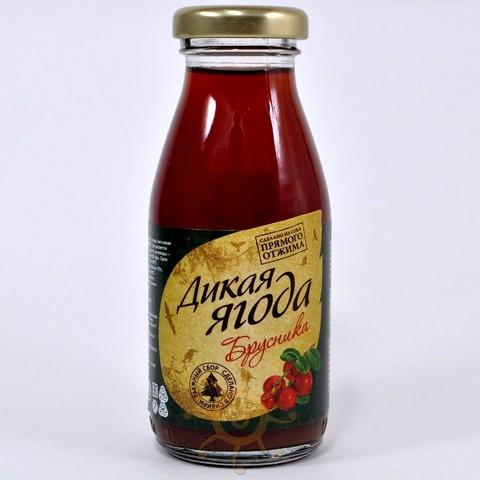 Нектар брусничный Дикая ягода, 200мл