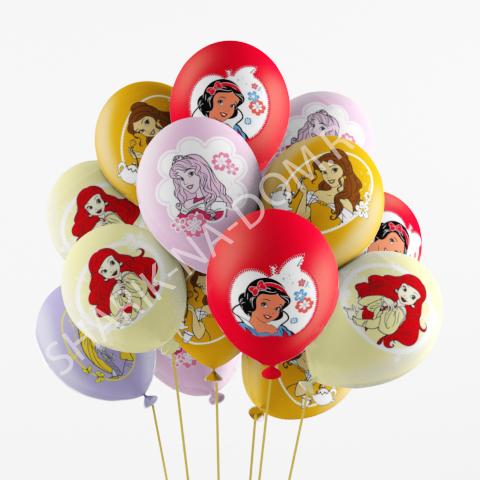 Шарики на 2 года девочке Воздушные шары Принцессы Дисней Шары_Дисней_принцессы.jpg