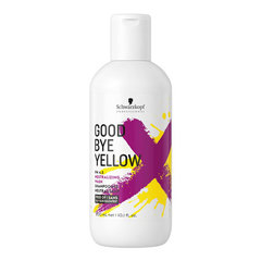 Schwarzkopf Goodbye Yellow Shampoo - Безсульфатний шампунь с антижелтым эффектом