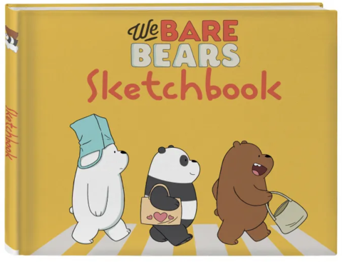 Скетчбук We bare bears