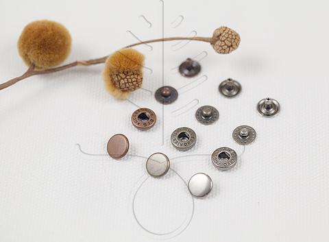 Кнопка 10 и 12,5 мм, 5 цветов