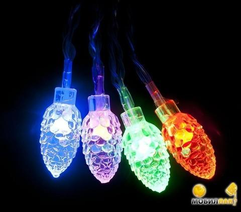 Новогодние светодиодные украшения
