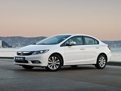 Чехлы на Honda Civic седан 2012–2017 г.в.