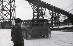 GAZ-47 GT-S 1954 Crawler Transporter with awning 1:43 Start Scale Models (SSM)