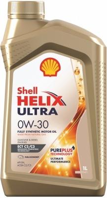 Shell Helix Ultra ECT С2/С3 0W30 Синтетическое моторное масло