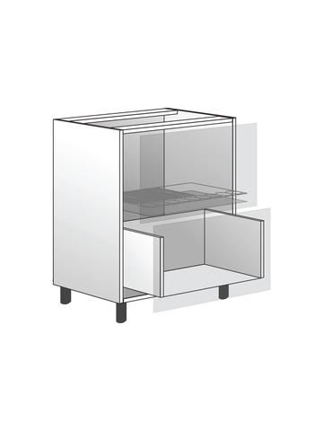 Напольный шкаф с сушилкой и 1 ящиком, 720х600 мм