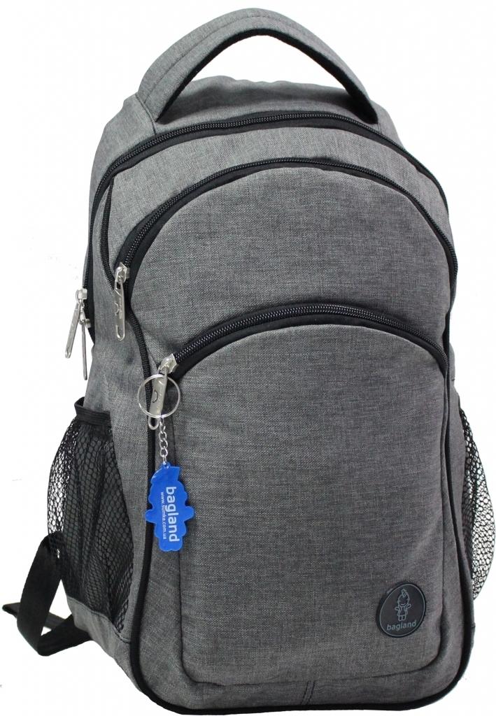 Городские рюкзаки Рюкзак Bagland Лик Меланж 19 л. Темно серый (0055769) 1af1a2e1c891b3cb9fad0a57d927a492.JPG