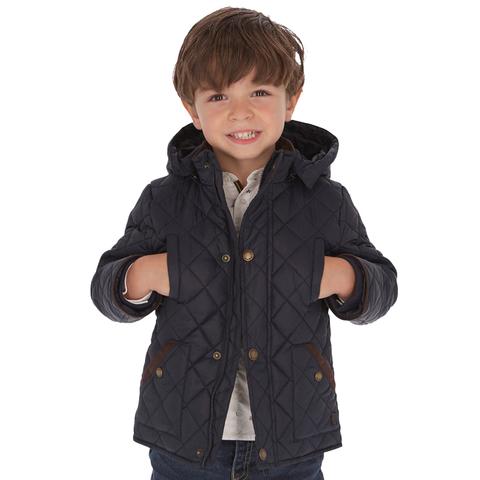 Куртка Mayoral Темно-синяя стеганая