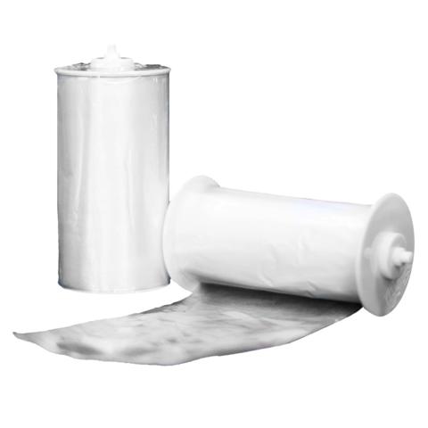 Рулон с одноразовым покрытием на унитаза Clean Touch (25 рулонов * 65 покрытий)