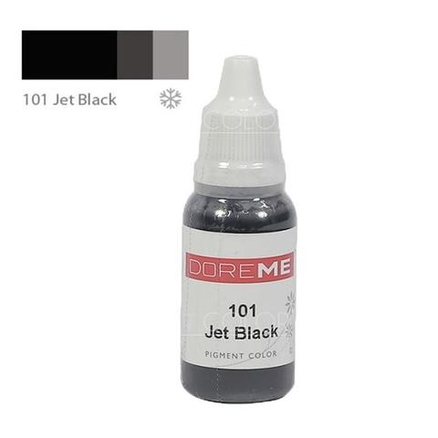 Пигменты #101 Jet Black DOREME 15ml
