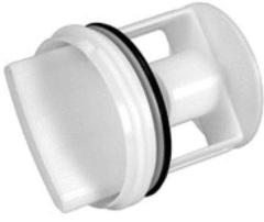 Заглушка-фильтр слив.насоса, Bosch (605010, 00602008, WS021)