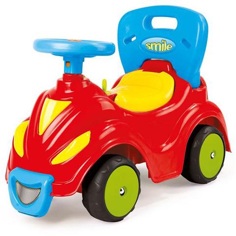 Автомобиль-каталка 2 в 1 красный