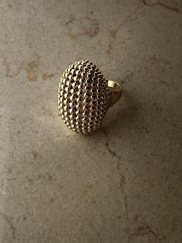 Кольцо Дакааба, позолота